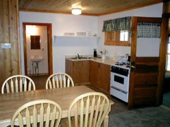 Cedaroma Lodge: Cottage 6, nice kitchen, very clean