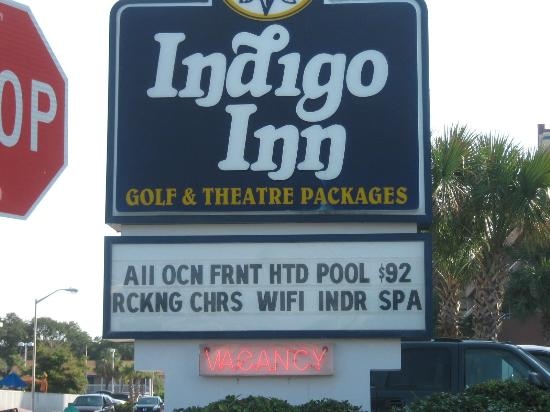 Indigo Inn: Don't stay here!!!
