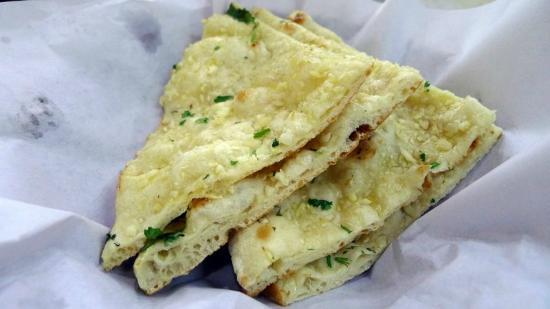 Garlic Naan - Jordan Curry House