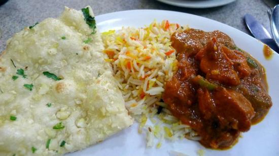 Indian dinner at Jordan Curry House