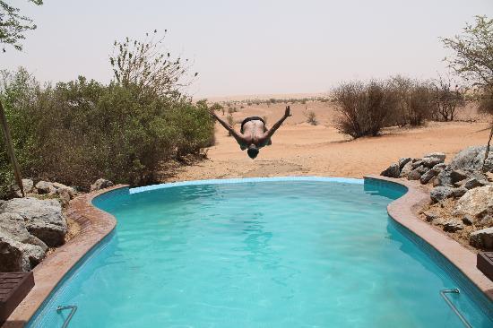Al Maha, A Luxury Collection Desert Resort & Spa: Piscina da suite