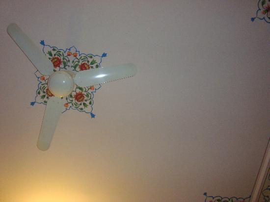 Hotel Anuraag Villa: Room Ceiling Fan