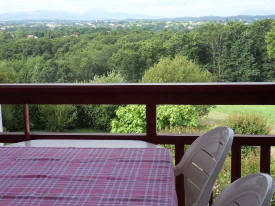 Pierre & Vacances Résidence Les Terrasses d'Arcangues : Vue de la terrasse