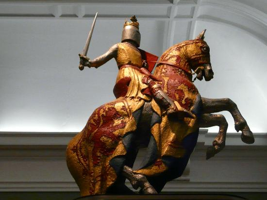 Kelvingrove Art Gallery and Museum: So many iconic Scottish symbols - Robert the Bruce