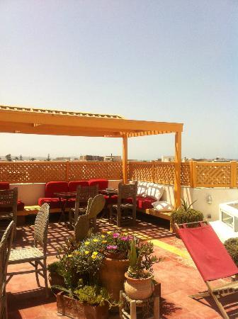 Dar Liouba: View from the terrace.
