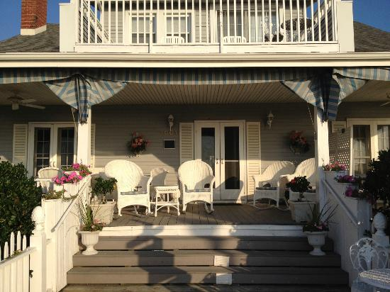 An Inn on the Ocean: front porch