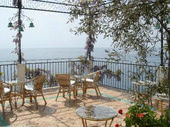 Santa Caterina Hotel: varanda