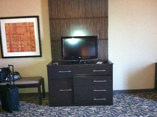Holiday Inn Express Hotel & Suites Dallas (Galleria Area) : Tv