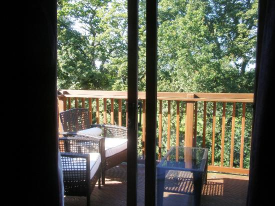 Devine Bed and Breakfast: The balcony, Lodge Room