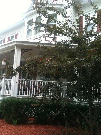 The Dominion House: View toward front porch