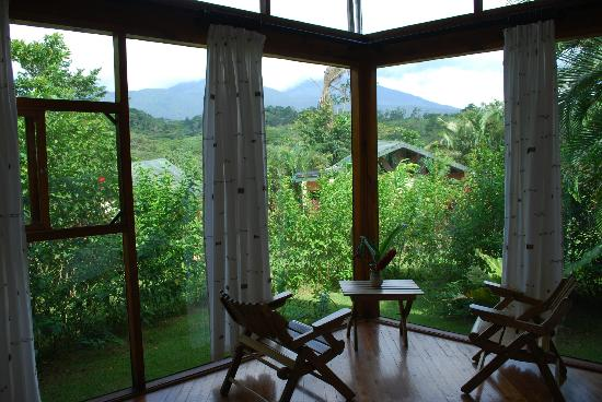 Tenorio Lodge: The view from Room #3