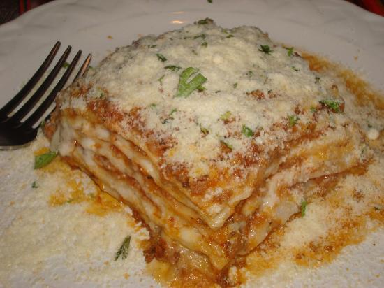 San Sebastian del Oeste, Mexiko: Lasagna - to die for!