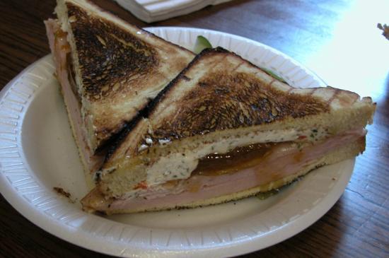 Michael's Deli: 'The Sandy' - (smoked turkey, herb cheese, apricot chutney)