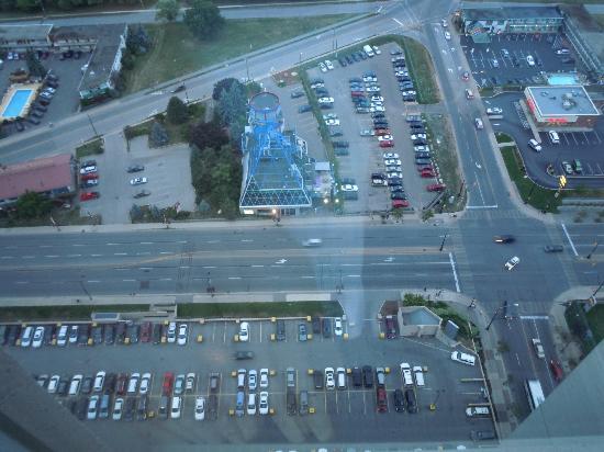Hilton Niagara Falls/Fallsview Hotel & Suites : c est haut