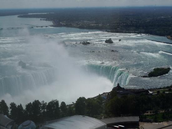 Hilton Niagara Falls/Fallsview Hotel & Suites : tres belle vue