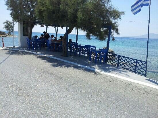 Agios Prokopios Beach: Fotis taverna Agios Propokios