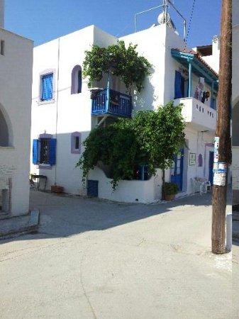 Agios Prokopios Beach: village a.prokopios