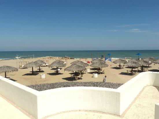 OCEAN CLUB HOTEL & RESORT - PLAYAS: view to the beach