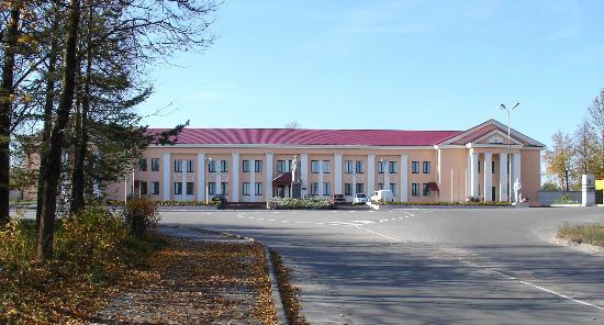 Slantsy, Russland: Вид на гостиницу