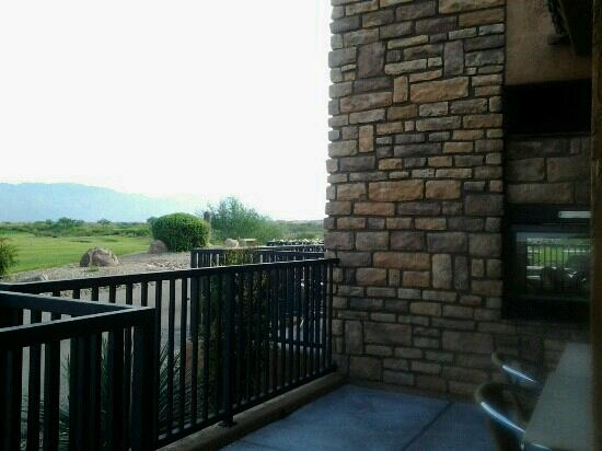 Hacienda del Lago: View from where I'm eating