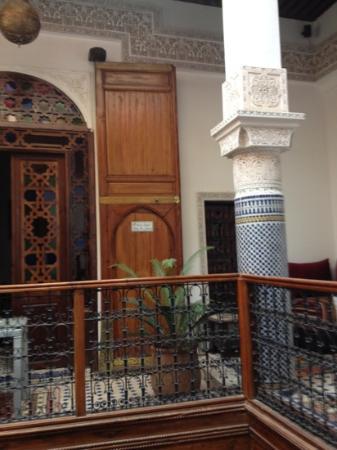 Riad Adarissa: interno riad