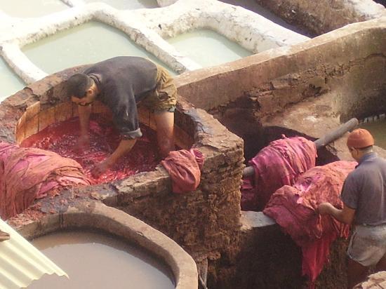 Moulay Abdellah Quarter: operaio al lavoro
