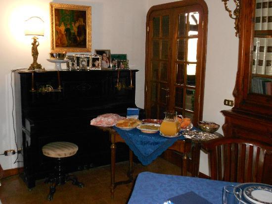 Villa Irene: Sala colazione (buffet)