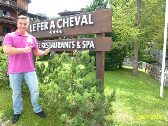 HOTEL LE FER A CHEVAL**** WITH ITS EXCELLENT SPA AND INDOOR POOL AREA.