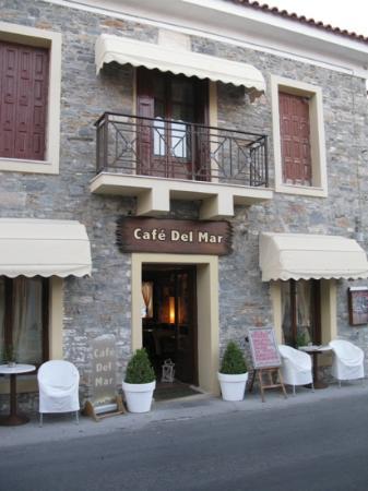 Athena Hotel: cafe