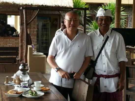 Well known culinary figure Mr William W Wongso, visited Don Biyu at August 15, 20212.