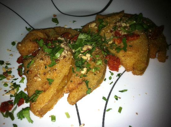 Terrace Restaurant : Fried Vegan Tomato (non menu item for vegan)