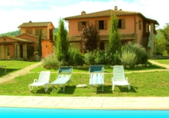 Agriturismo Podere Bellaria: View from the pool