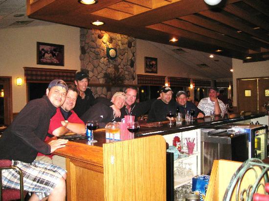 Jac's Place: Golf groups having fun