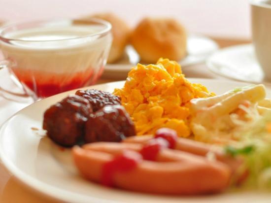 Hotel Green Selec : 朝食バイキング