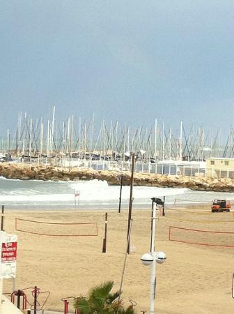 Crowne Plaza Tel Aviv City Center : lovely beach