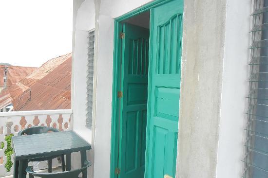 Hostel Yaxha: on our balcony
