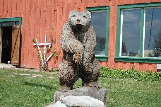 Bagley's Poplar Ridge Vineyards : Meryl the Famous Bear