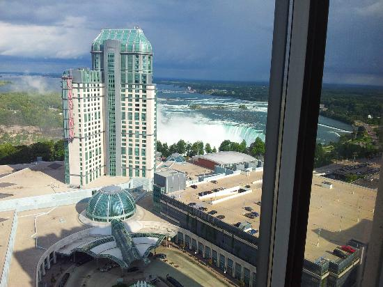 Hilton Niagara Falls Fallsview Hotel Suites View From 31st Floor North Tower