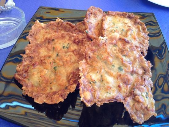Restaurante Clandestino Zahara: Tortillitas de camarones