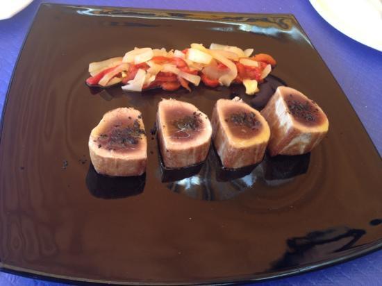 Restaurante Clandestino Zahara: Solomillo de atún