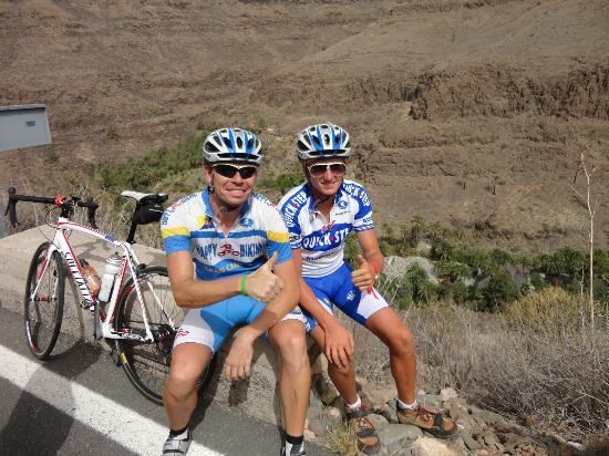 Bike 10Mil: Jurgen (superkerel) met Neil