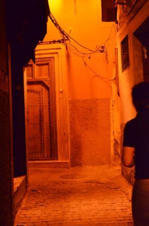 Riad Awa: L'entrée