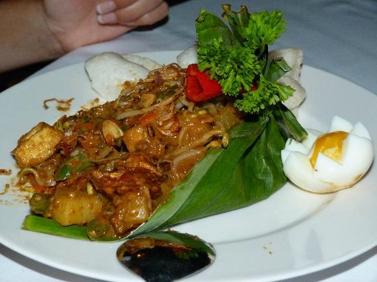 Bali Nibbana Resort: Gado-Gado