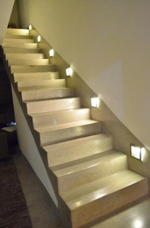 Riad Awa: L'escalier