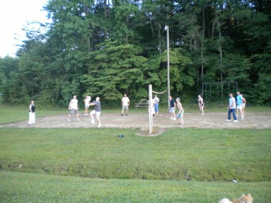 Beechnut Campground: Volleyball