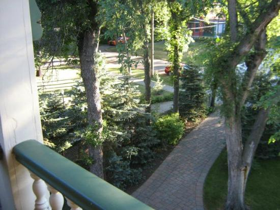 Beechmount Bed and Breakfast: from third floor balcony
