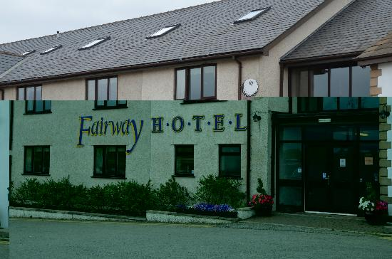 Fairway Hotel: hotel entrance