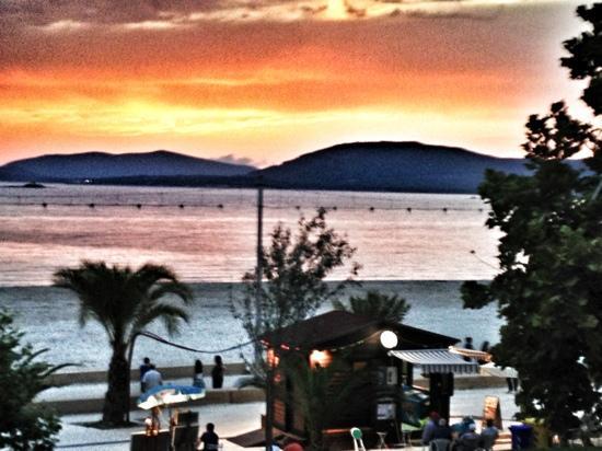 Hotel Il Gabbiano: meravigliosa vista dal terrazzino della camera 12!!