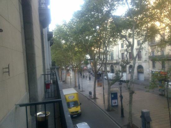 Hotel Cuatro Naciones: dalla sala colazione