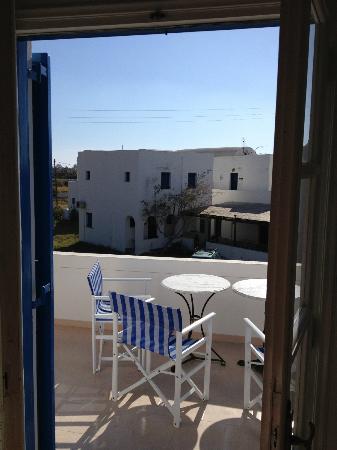 Villa Clio: Delicious terrace